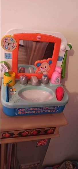 Fisher Price juego lavador de dientes
