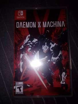 Se vende juego de Nintendo Switch DaemonXMachina