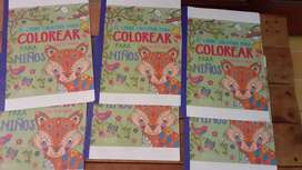 Libros p colorear, actividades