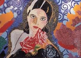Mosaicos y murales en cerámica Provenzal