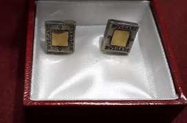Aros de plata y oro Precio por cada uno