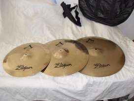 Set Platillos Zildjian A Custom 20 ,18 ,16 fundamuteadores