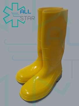 Botas impermeables PVC punta de acero