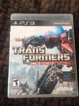 Transformers para PS3