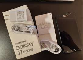 Samsung Galaxy J7 Prime en Caja 16 Gb y Accesorios Originales