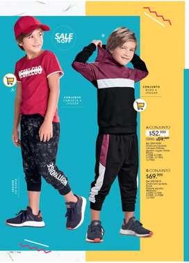 Conjunto deportivo para niño talla 12 NUEVO!