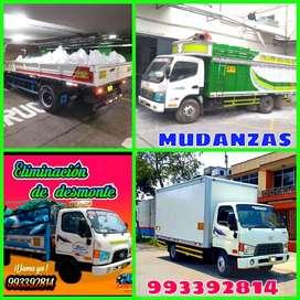servicios de mudanza y taxi carga y eliminación de desmonte