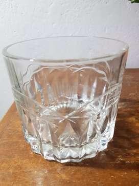 Hielera cristal tallado