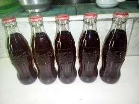 botella de coca cola antigua