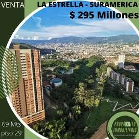 COD: V1022. Con una espectacular vista, apartamento en venta en LA ESTRELLA - SURAMERICA