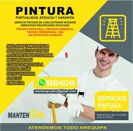 PINTURA DE INTERIORES Y EXTERIORES
