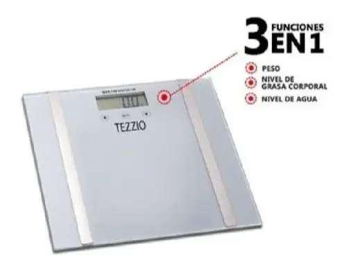 Balanza/bascula Digital De Baño Control De Peso 3 En 1 0