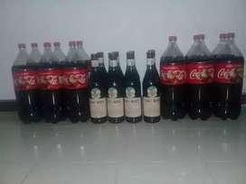 Fernet Branca más Coca Cola de 2.5L