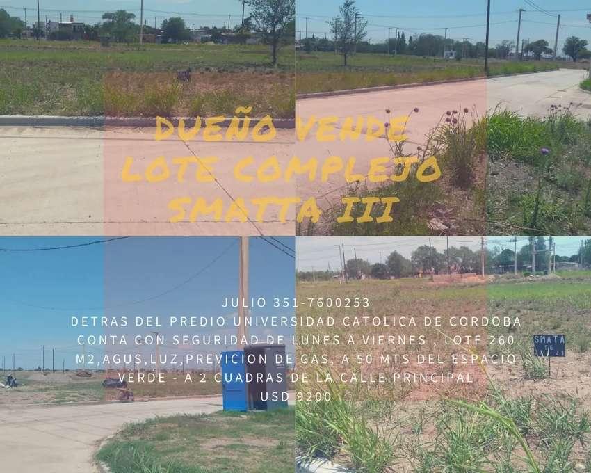 Dueño vende lote smata III 0