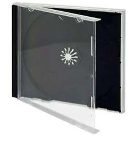 Cajas porta cds/dvds