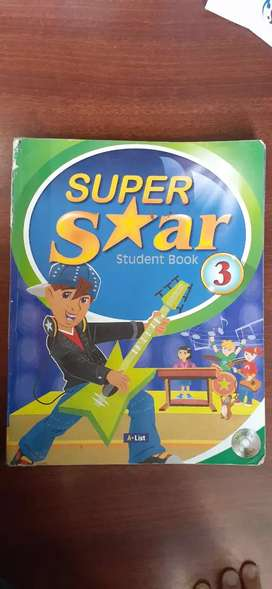 Libros de ingles Super star 3