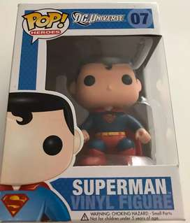 Funko Pop Superman, Deadpool, The Flash