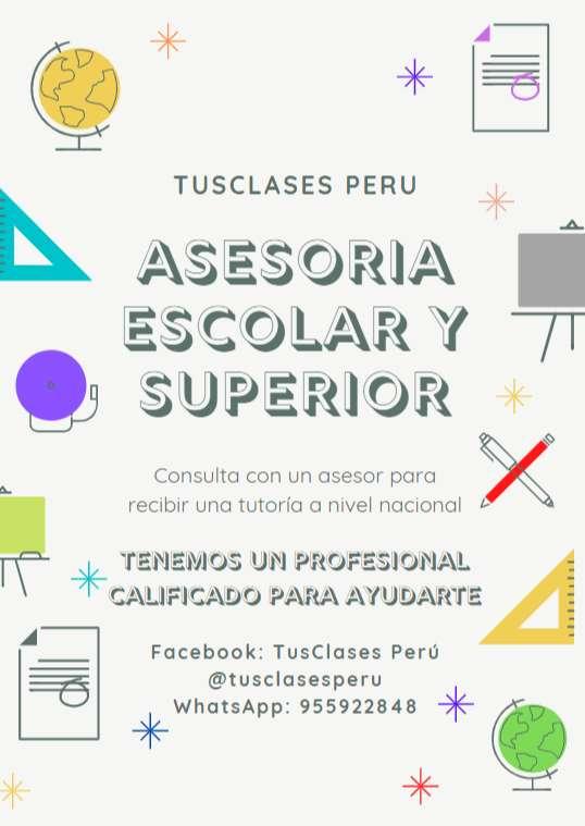 CLASES EN VIVO Y RESOLUCION DE TRABAJOS 0