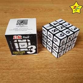 Cubo Rubik Sudoku 3x3 Qiyi Numeros Puzzle Stickers Logica