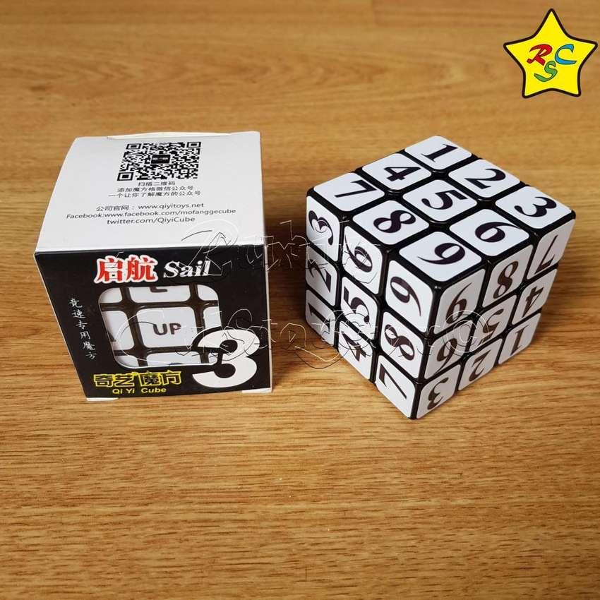 Cubo Rubik Sudoku 3x3 Qiyi Numeros Puzzle Stickers Logica 0