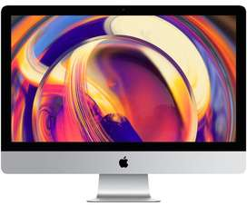 Nuevo 2019 iMac 27 5K 8GB 6 core Turbo Boost 4.1GHz Radeon Pro 570X