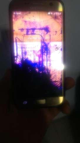 Vendo Samsung S7 Modulo Roto