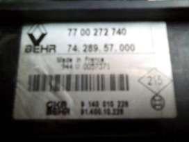 Regulador velocidad aire Clio Energy