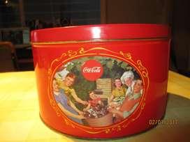 Lata Con Grabado De Coca Cola, Coleccionable
