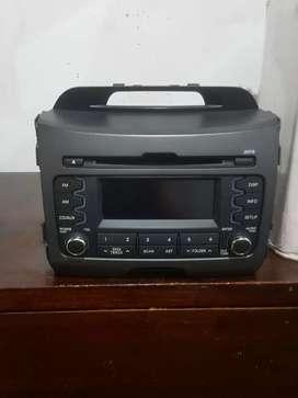 RADIO Kia Sportage con la carcasa es Original 2014