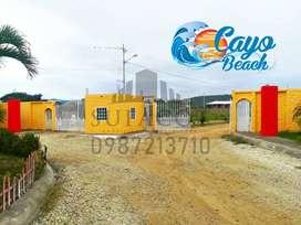 LIQUIDACIÓN DE LOTES, CAYO BEACH LOTIZACIÓN PRIVADA EN LA PLAYA DE PUERTO CAYO MANABI, SD1