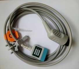 CABLE ECG MINDRAY - DATASCOPE - CRITIKON - NELLCOR - NIHON KODEN -  CRITIKARE - PHYSIO CONTROL - SPACE LABS
