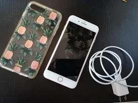Vendo iphone 8 plus 5 meses de uso
