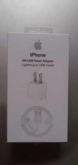 Cargador tipo original  iPhone Carga rápida