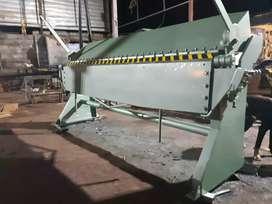Dobladora de tool de 2.45 Mtr capacidad de 2m.m con transporte y garantía.