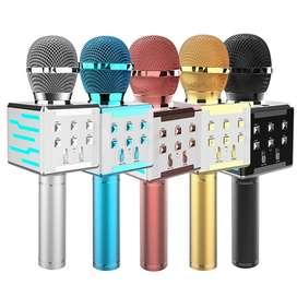 Micrófono Inalámbrico Para Karaoke Con Parlante Bluetooth