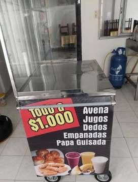 Se venden 2 carros para venta de comida ambulante