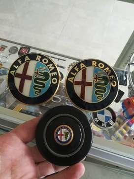 Emblemas Alfa Romeo