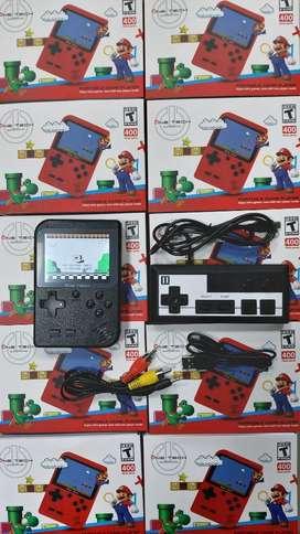 Game Boy con Control 400 Juejos.