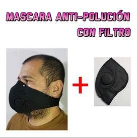 MASCARA ANTI – POLUCION