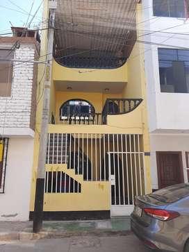 Casa de 3 pisos en alquiler , urbanizcion primavera por el zoila