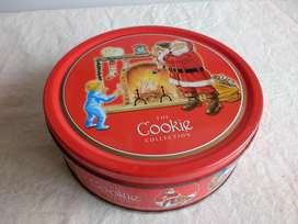 Lata Galletitas Dan cake The Cookie Collections Navidad Impecable!