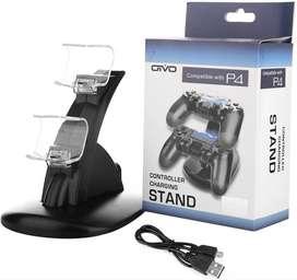 Base Carga Dual Control Playstation 4