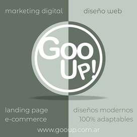 Diseño Web - E-commerce - Venta On Line - Marketing - Gooup