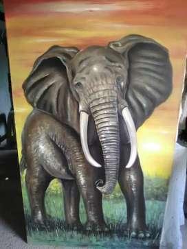 Gran remate obras de arte pintadas a mano en óleo