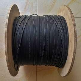 Cable de Fibra Optica Monomodo con mensajero