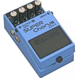 Pedal Boss CH1 Super Chorus. Artículo Nuevo.
