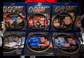 Colección películas 007 James bond