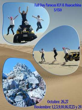 FULL DAY A PARACAS/ICA/HUACACHINA