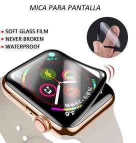 Protector De Pantalla COMPLETO Para Apple Watch 38 / 40 / 42 / 44