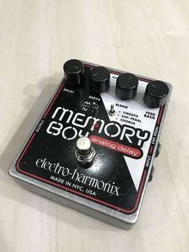 pedal de guitarra electro harmonix memory boy